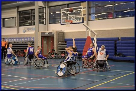 BS Leiden vs. Redeoss in Leeuwarden