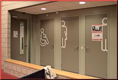 De toiletten in Venray